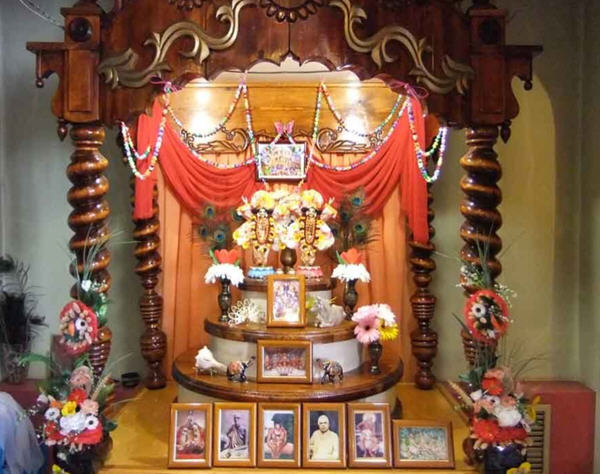 ISKCON Kazan - Alter Photo