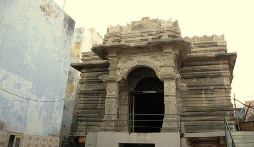 ISKCON Dwarka Temple View