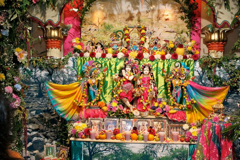 Iskcon Coventry Main Altar