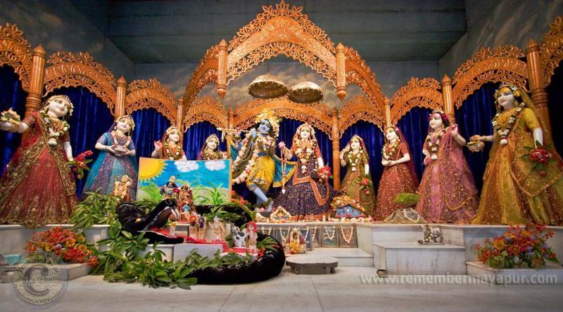 ISKCON Mayapur Radha Madhav Asta Shakhi