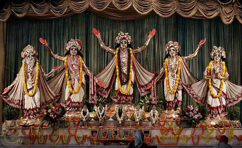 ISKCON Mayapur panchtattav