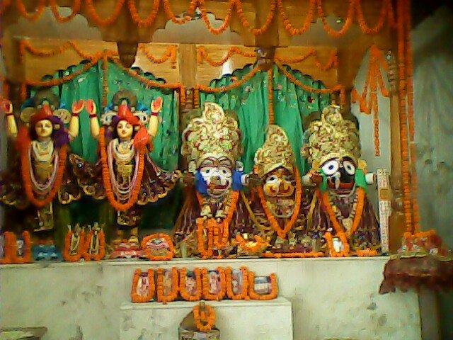 ISKCON Patna Main Altar