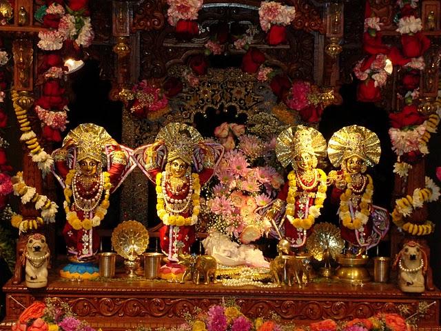 Sri Sri Gaura Nitai And Krishna Balaram