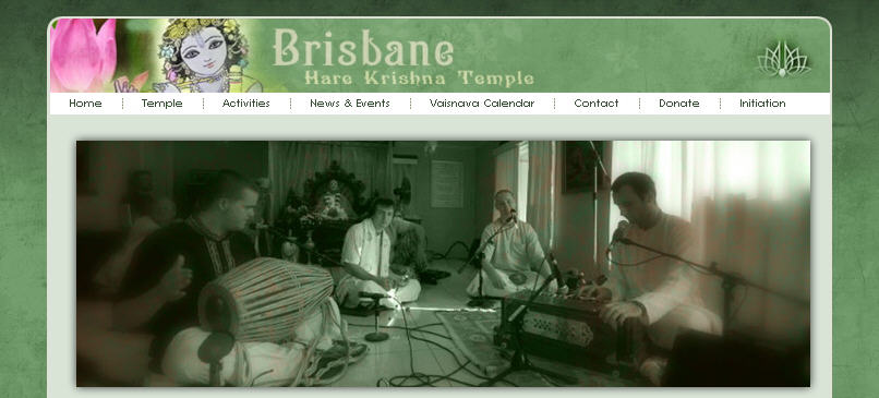 Iskcon Brisbane Website
