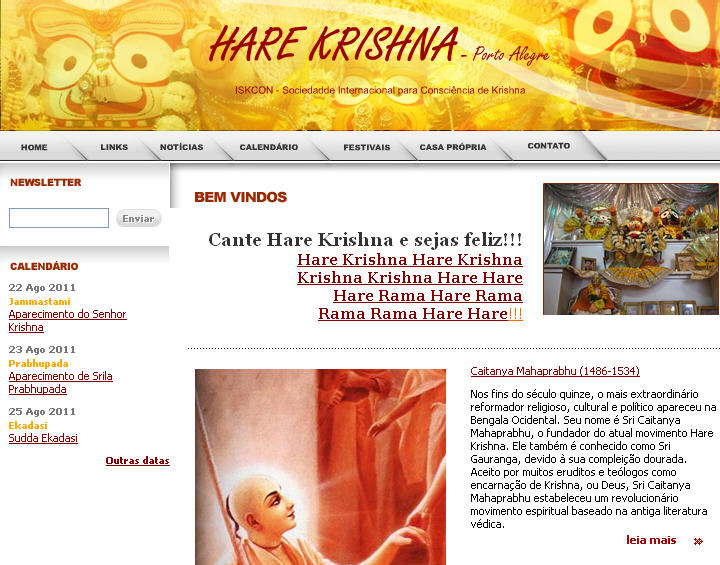 Iskcon Port Harcourt Website