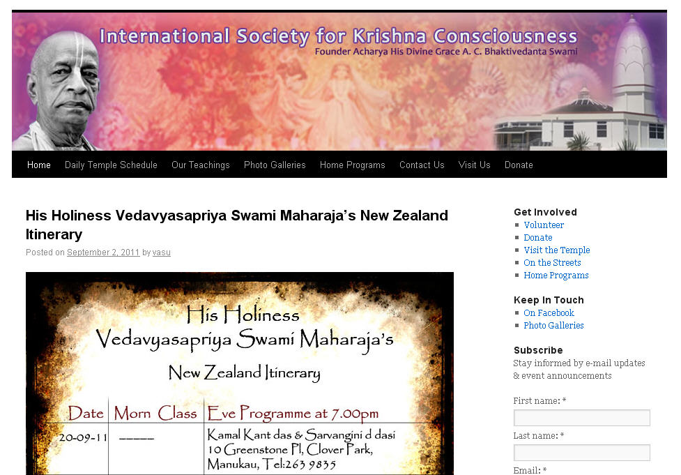 New Varshana Website