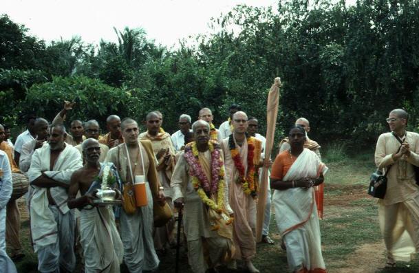 Prabhupada in Nellore
