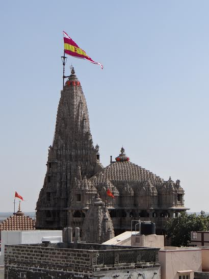 ISKCON Dwarka Temple View