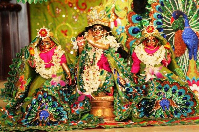 ISKCON Chennai Utsava Deities