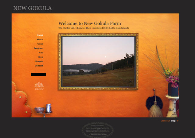 ISKCON Millfield (Cessnock) - New Gokula Farm Website