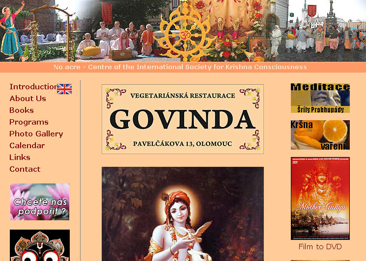 ISKCON Lutotin Website