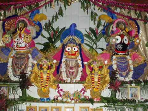 ISKCON Madhuvan Main Altar