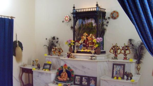 ISKCON New Vrajadhams Main Altar