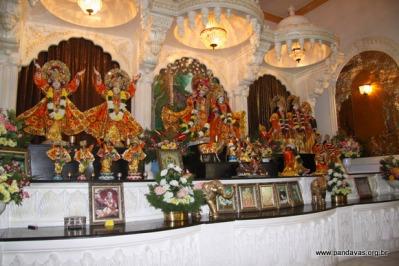 ISKCON Nova Gokulas Main Altar