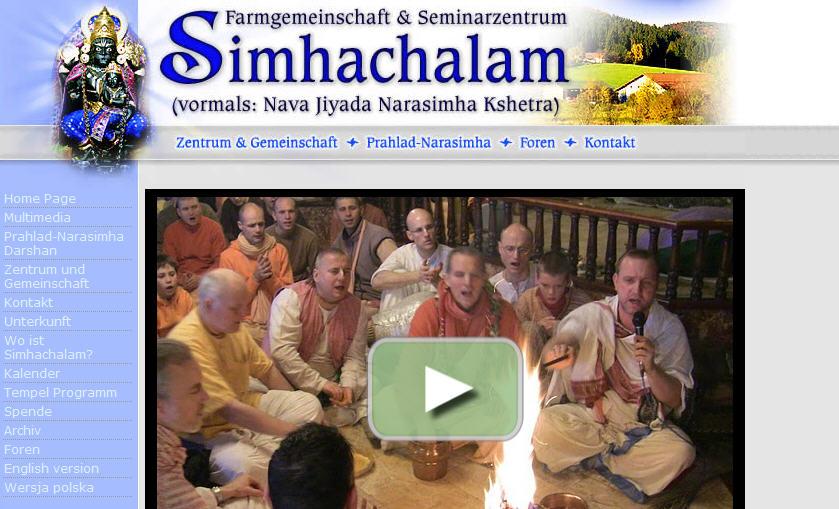 ISKCON Simhachalam Website