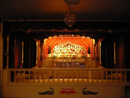ISKCON  Jarna Main Altar