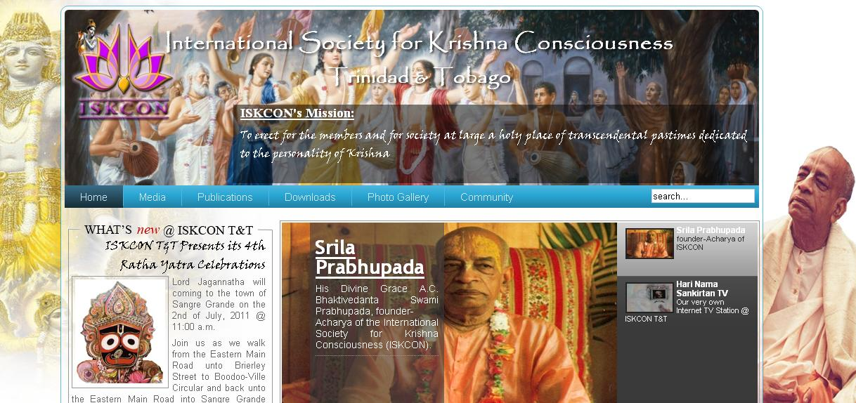 ISKCON New Madhavan Website