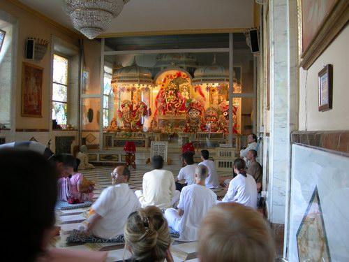 ISKCON Villa Vrindavan - Main Altar