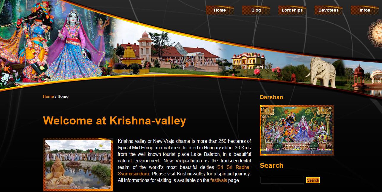ISKCON Navavraja Dham Website