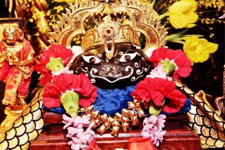 Sri Sri Prahlad Laksmi Narasimha Saligram-Sila