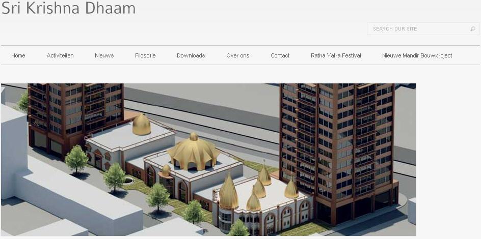 ISKCON Den Hague Website