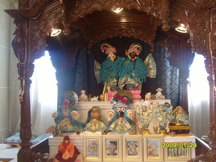 ISKCON Mpumalanga Main Altar