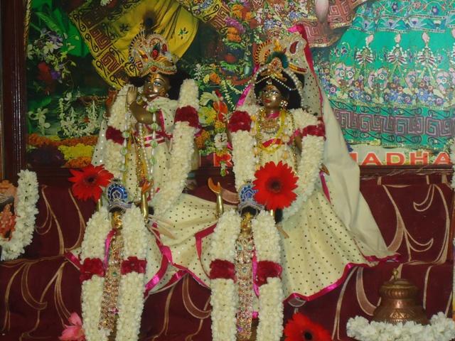 Sri Sri Radha Madhav And Sri Sri Gaura Nitai