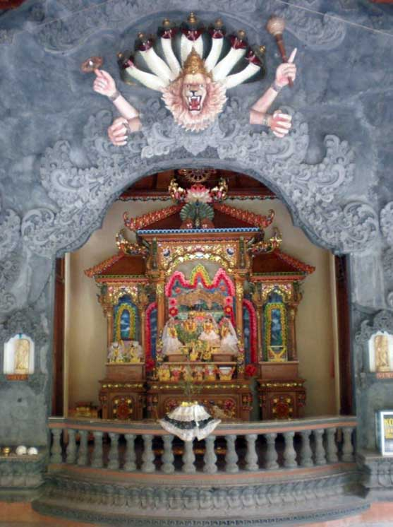 ISKCON Gianyar Main Altar