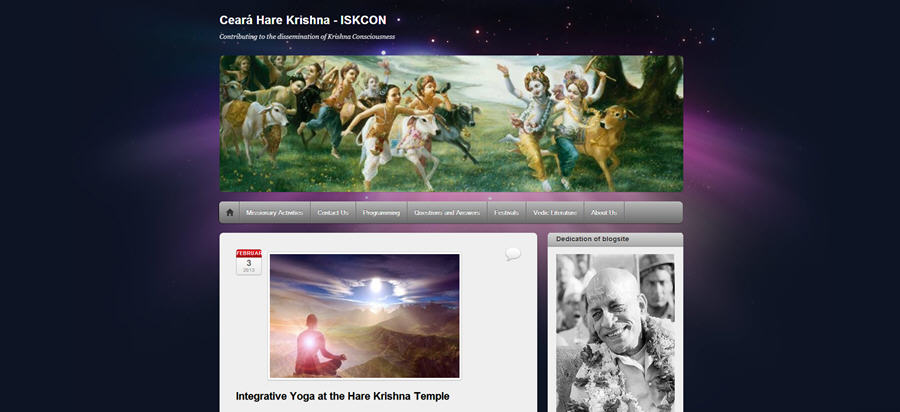 ISKCON Cearás Websites
