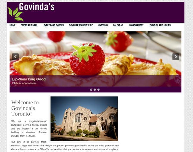 Toronto Govinda's Website