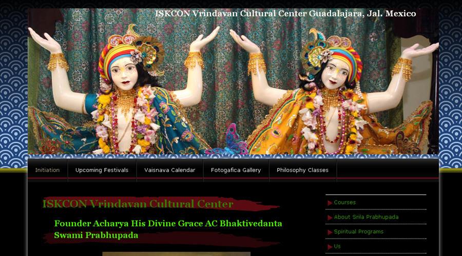 ISKCON Guadalajara Website