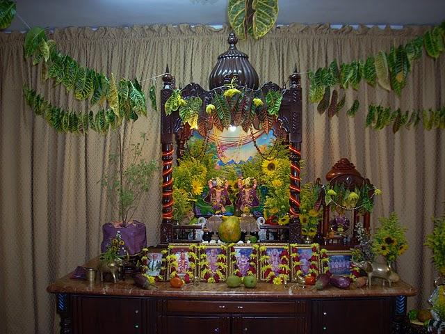 Iskcon Santo Domingo Main Altar