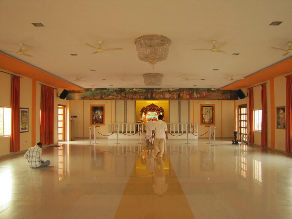ISKCON Temple Kharghar Temple Hall