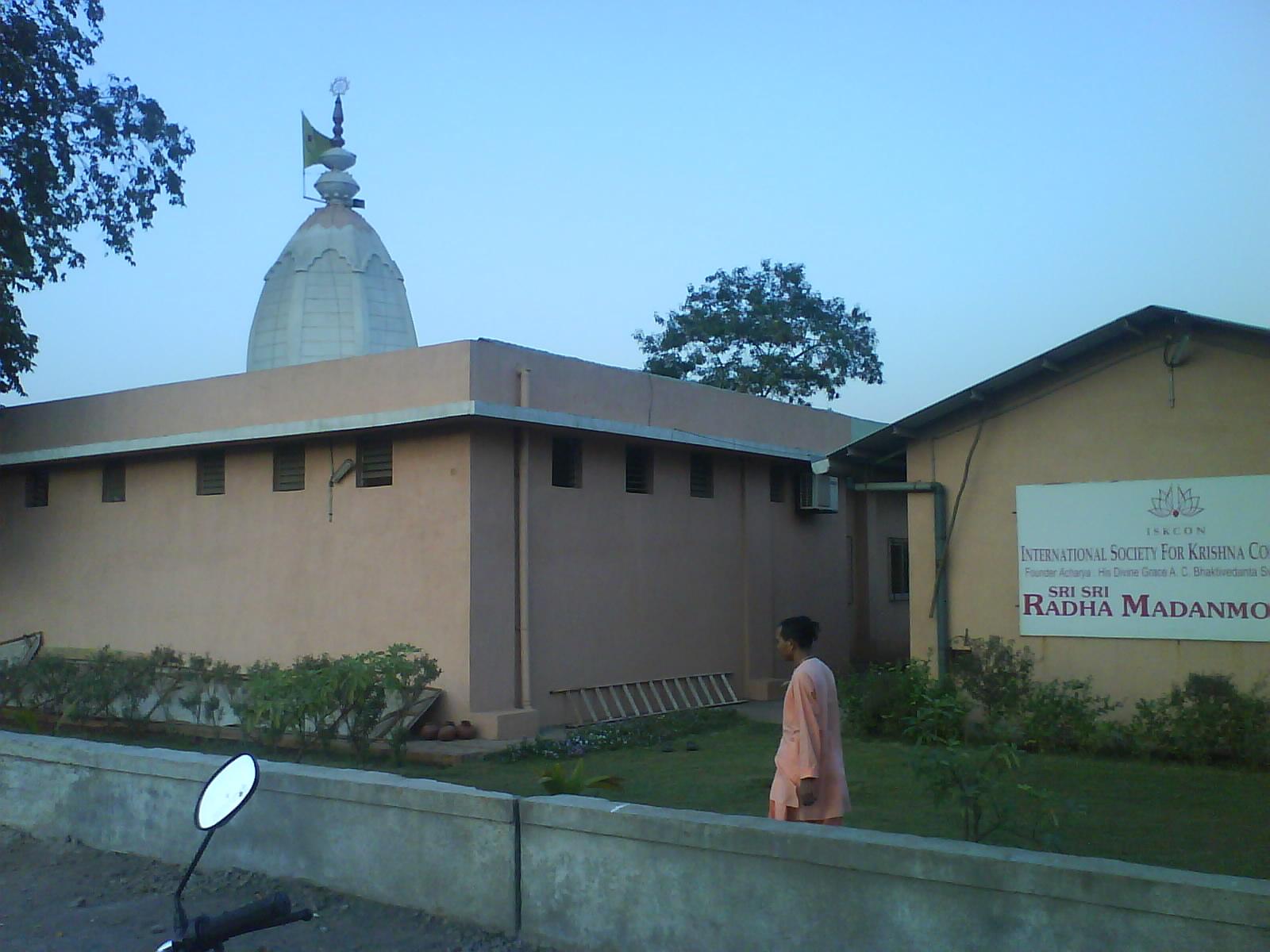 ISCON Kharghar Temple