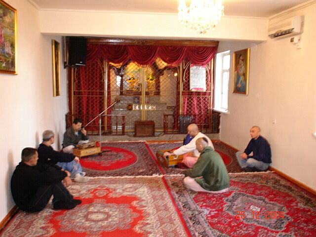 ISKCON Baku Temple Hall