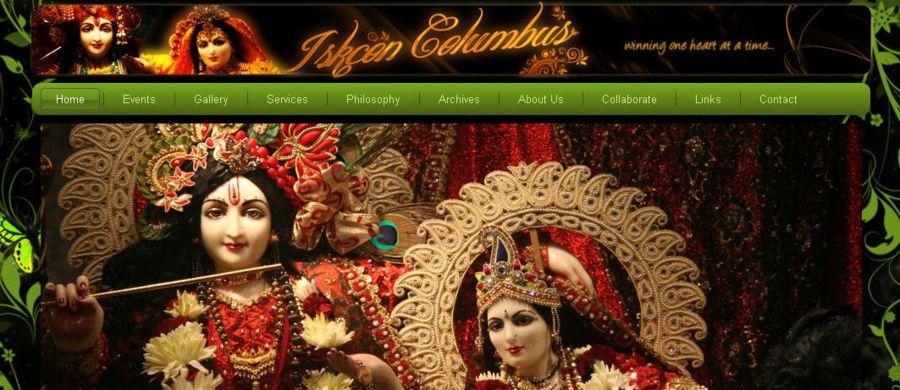 Iskcon Columbus Website