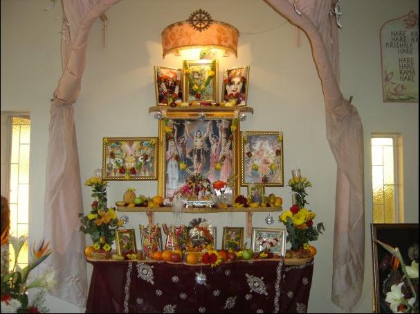 ISKCON Pretoria Main Altar