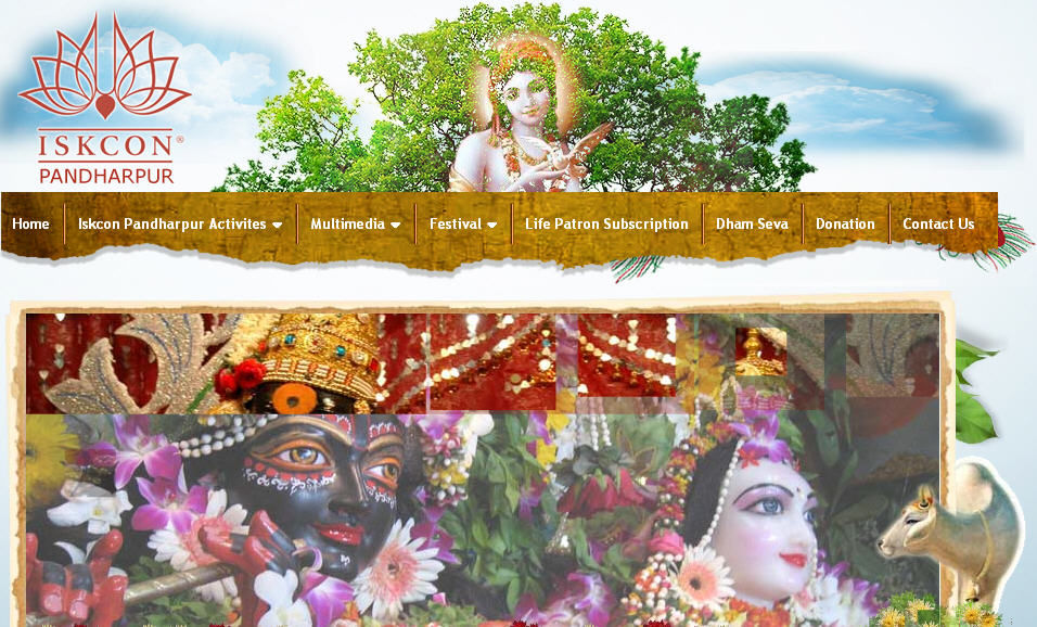 ISKCON Pandarpur Website