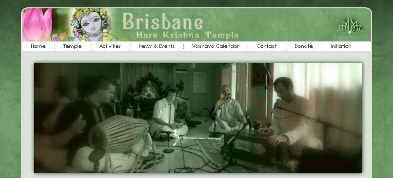 Iskcon Brisbane Website