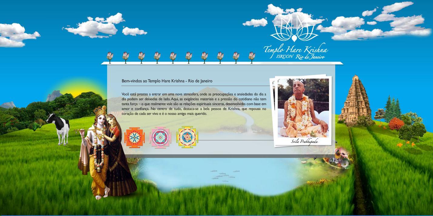 ISKCON Rio De Janeiro Website