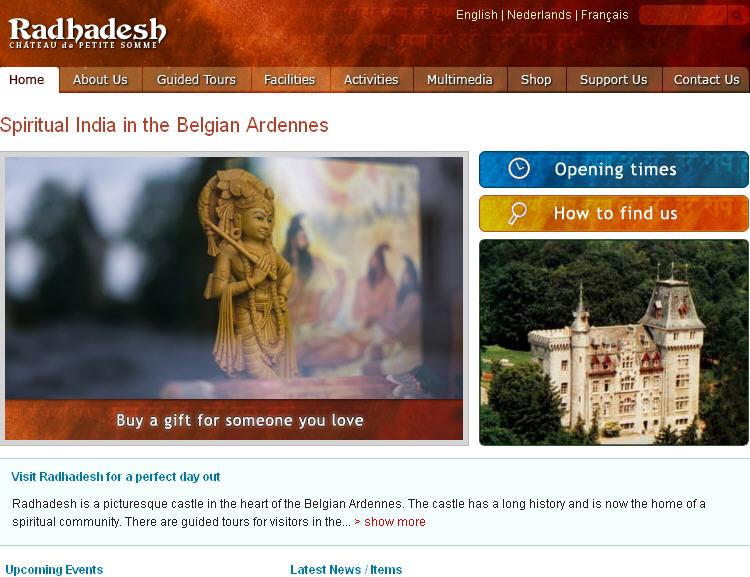 Iskcon Septon Durbuy Website