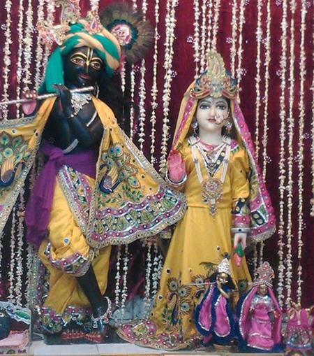 Sri Sri Gaur Radha Krishna