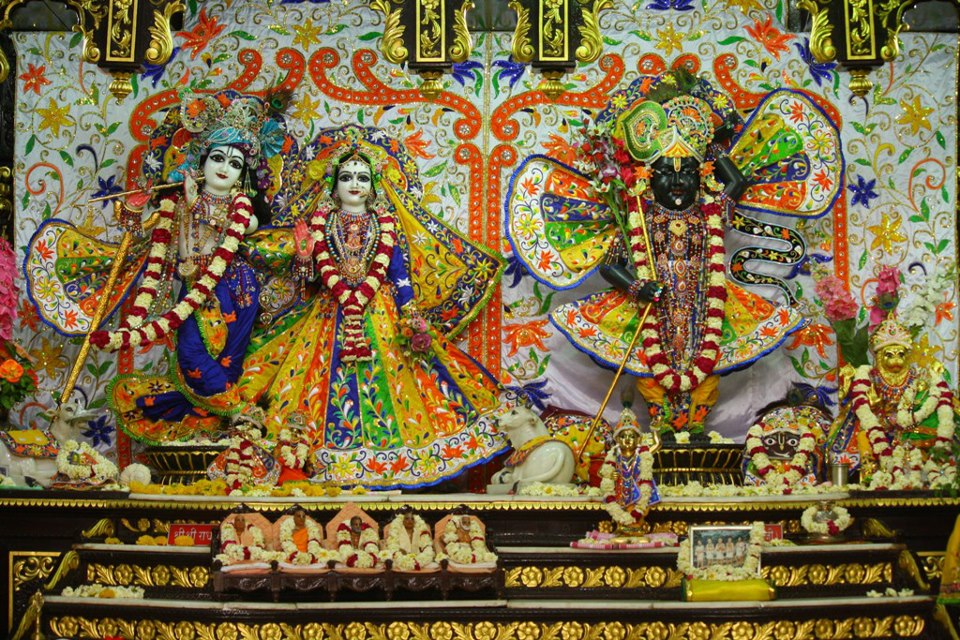 Sri Sri Radha Govinda and Srinathji
