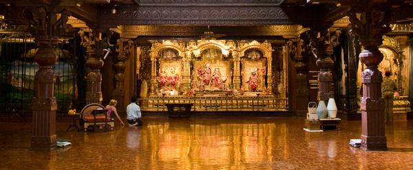 ISKCON New Vrindaban Temple Room View