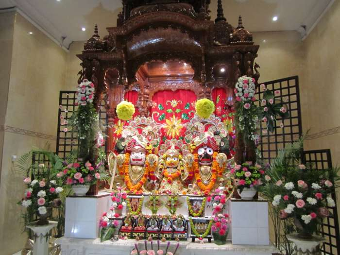 ISKCON Phoenix Main Alter