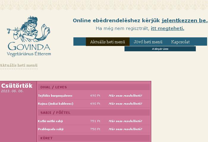 ISKCON Website Debrecen