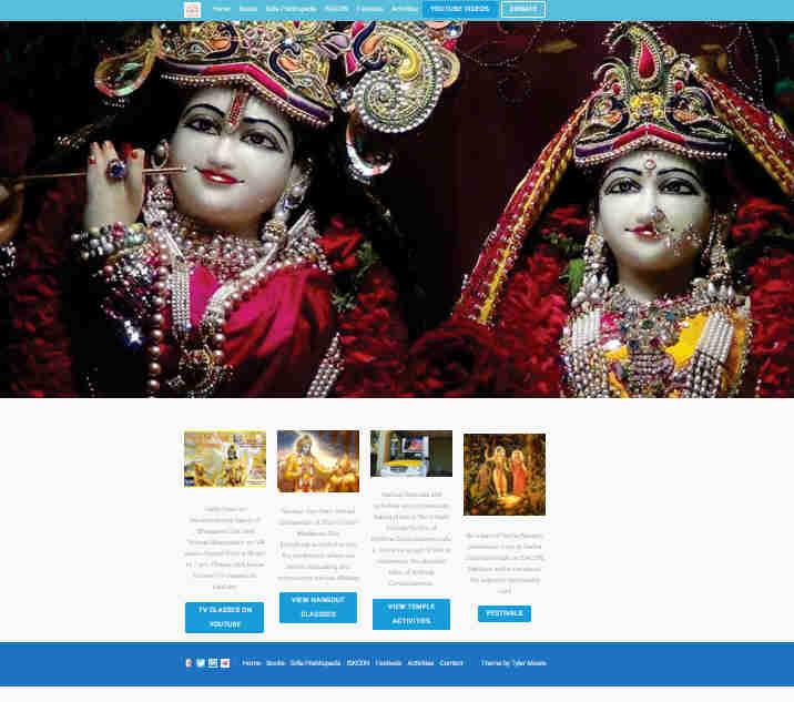 ISKCON Mangalore Website